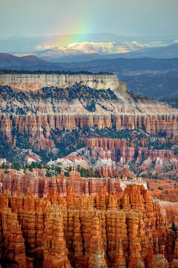 Rainbow Over Bryce Canyon Photograph by Kim Van Dijk Photography