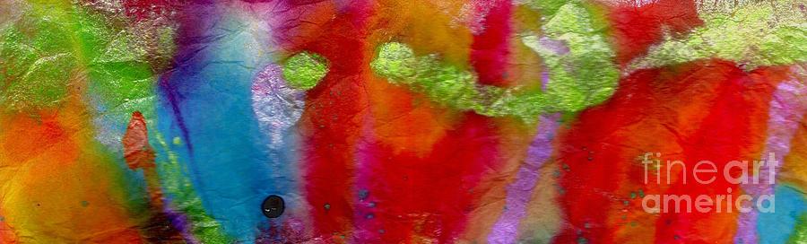 Rainbow Painting - Rainbow Passion by Angela L Walker