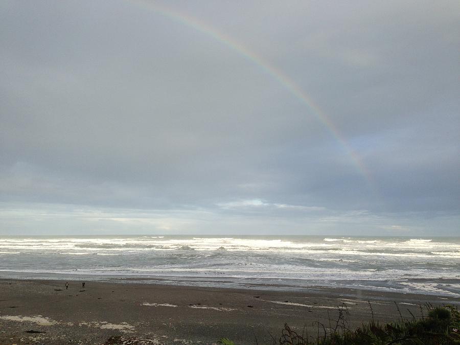 Rainbow Photograph - Rainbow by Ron Torborg