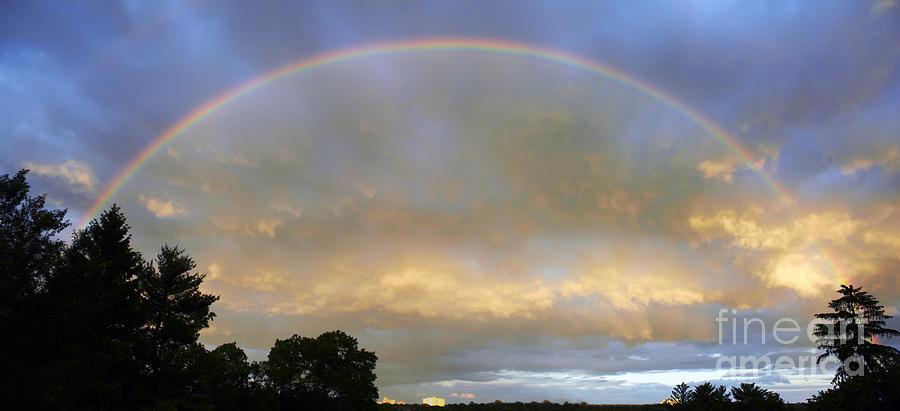 Rainbow Photograph - Rainbow by Tony Cordoza