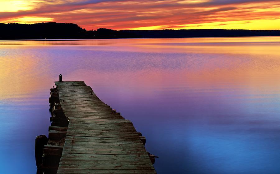 Rainbow Waters by Dylan Lees