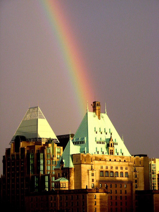 Decor Photograph - Rainbows End by Brian Chase