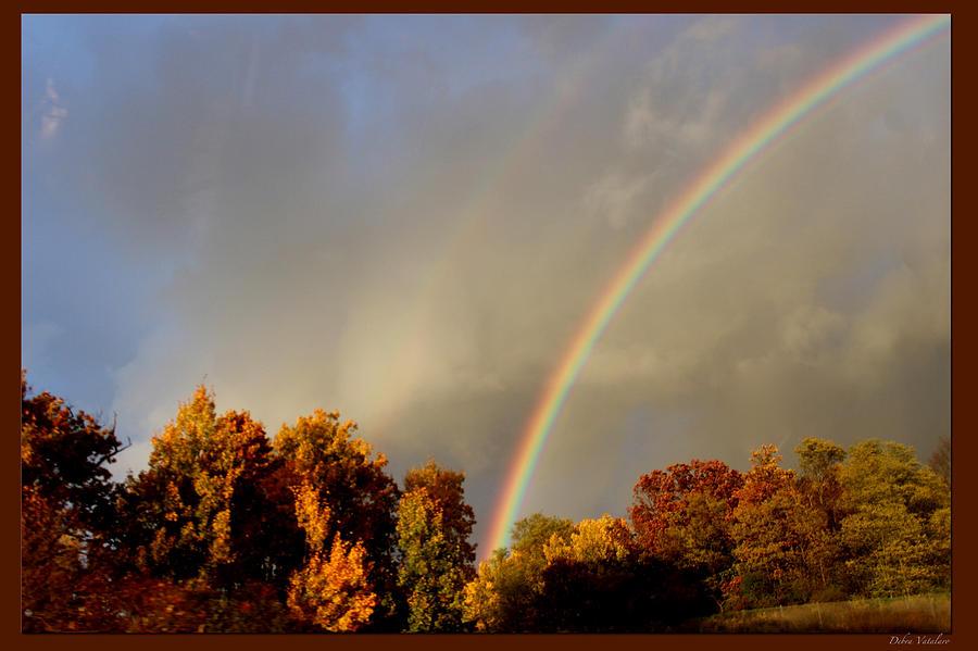 Rainbow Photograph - Rainbows Of Autumn by Debra     Vatalaro