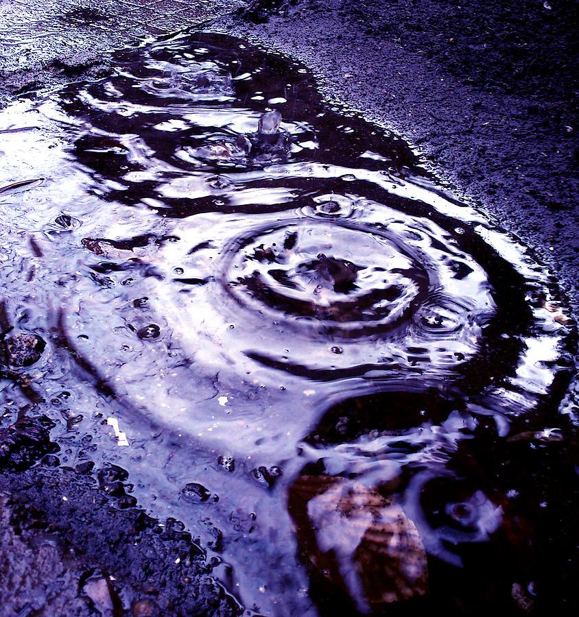 Rain Photograph - Raindrop by Lucy D
