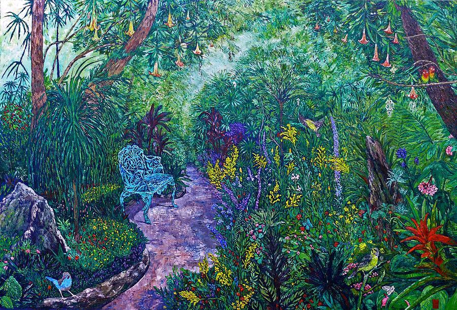Rainforest Gardens by Linda J Bean
