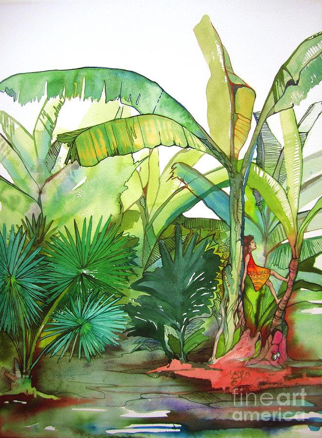 Rainforest Painting - Rainforest by Maya Simonson