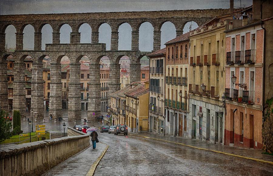 Rainy Afternoon In Segovia Photograph