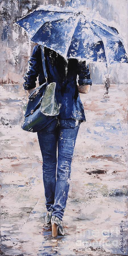 Rainy Day 22 Painting By Emerico Imre Toth