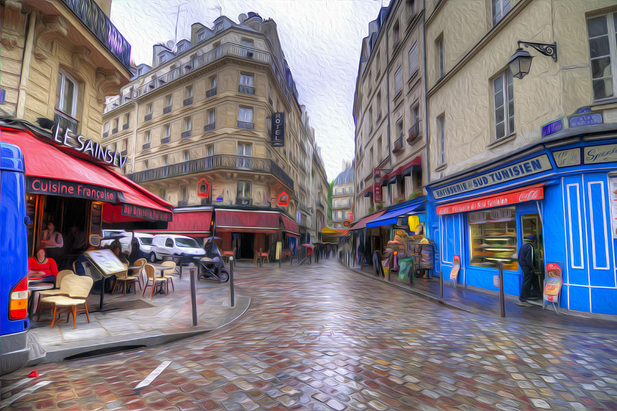 Rainy Day In Paris Photograph By Dustin Lefevre