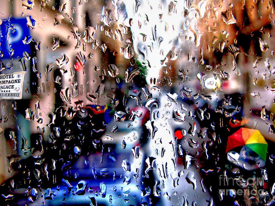 Rainy Day in Rome by Jennie Breeze