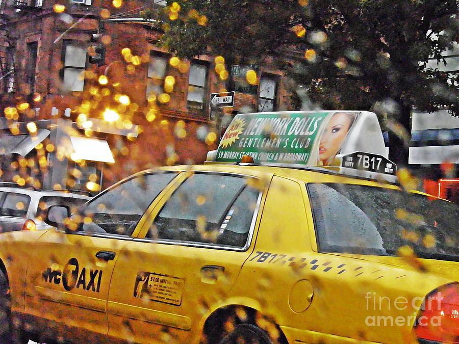 Rainy Day Nyc Photograph - Rainy Day Nyc by Sarah Loft