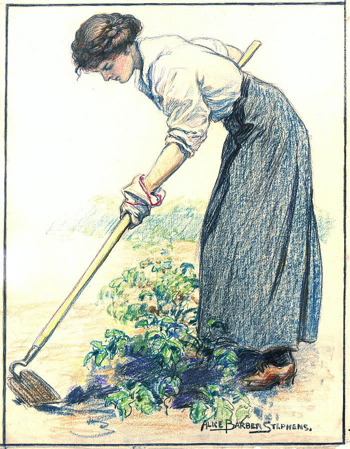 Gardening Photograph - Raise What You Eat 1917 by Padre Art