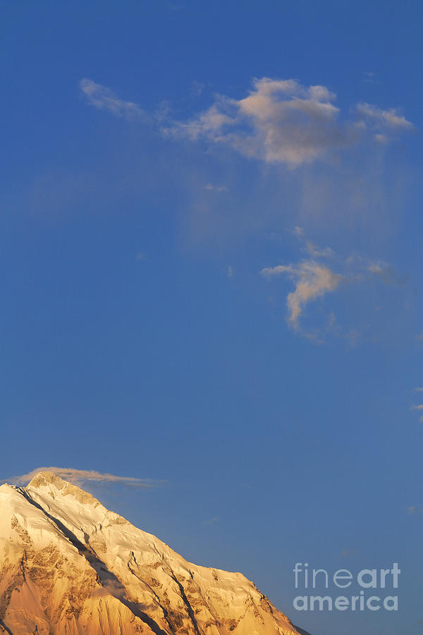 Rakaposhi Photograph - Rakaposhi Mountain Pakistan by Robert Preston