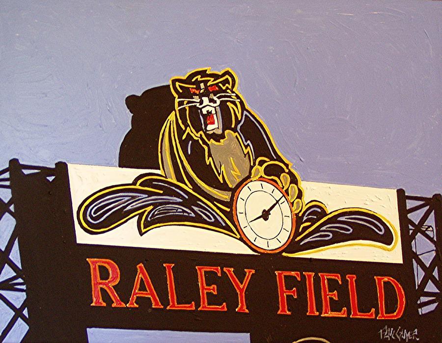 Raley Field Painting - Raley Field by Paul Guyer