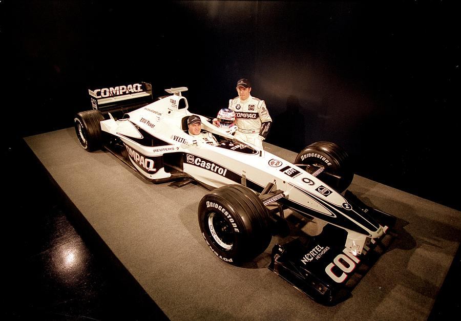 Ralf Schumacher and Jenson Button Photograph by Mark Thompson