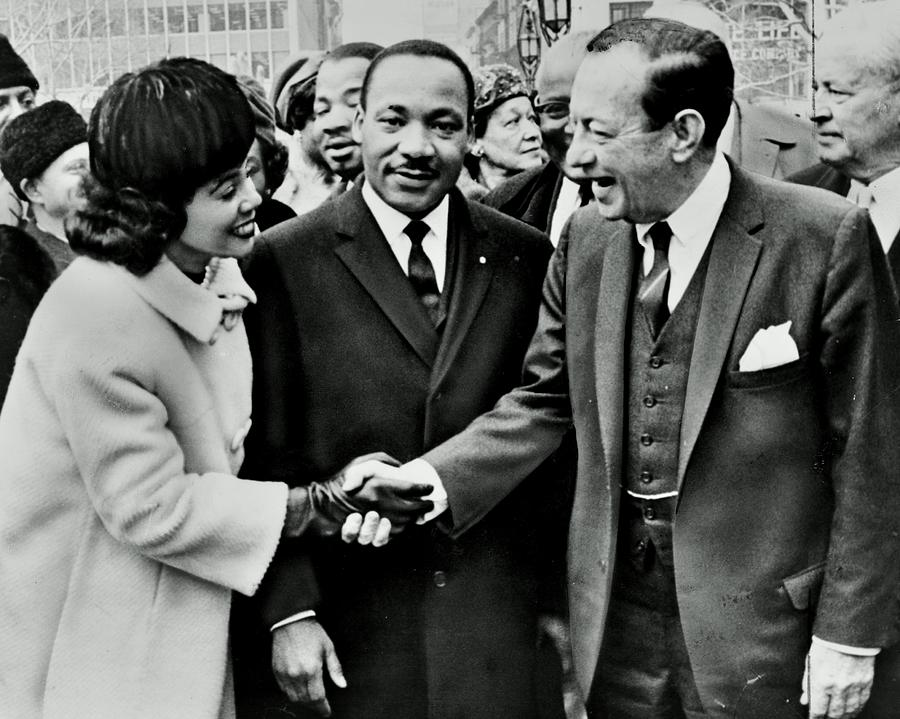 Martin Luther King Photograph - Rallying Support by Benjamin Yeager
