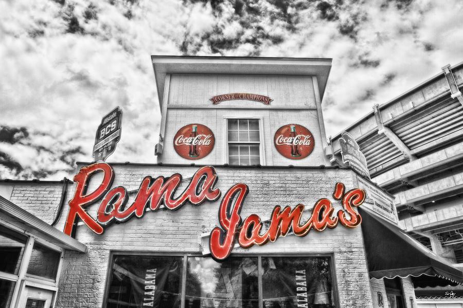 Selective Color Photograph - Rama Jamas by Scott Pellegrin