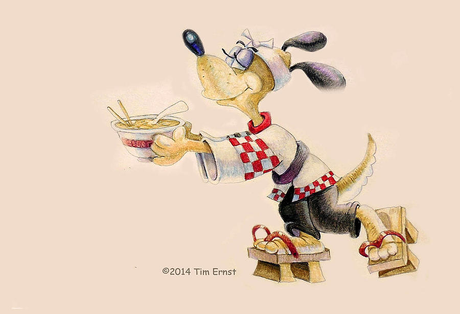Ramen Hound by Tim Ernst