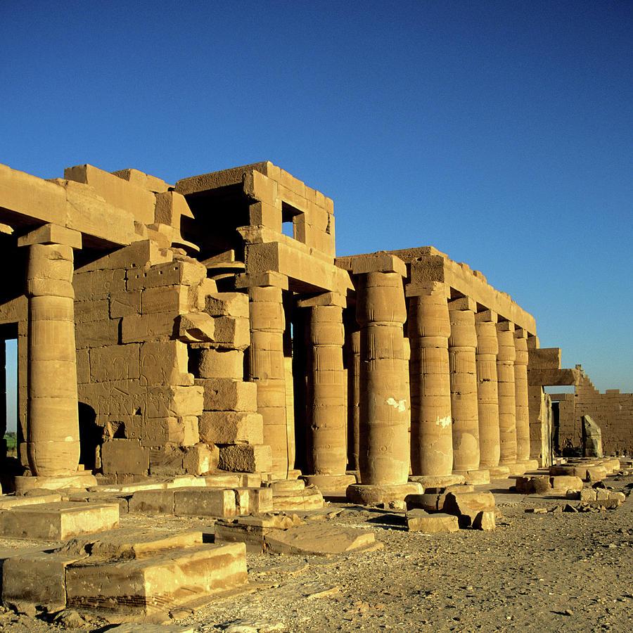 Ramesseum Temple, Luxor, Egypt Photograph by Hisham Ibrahim