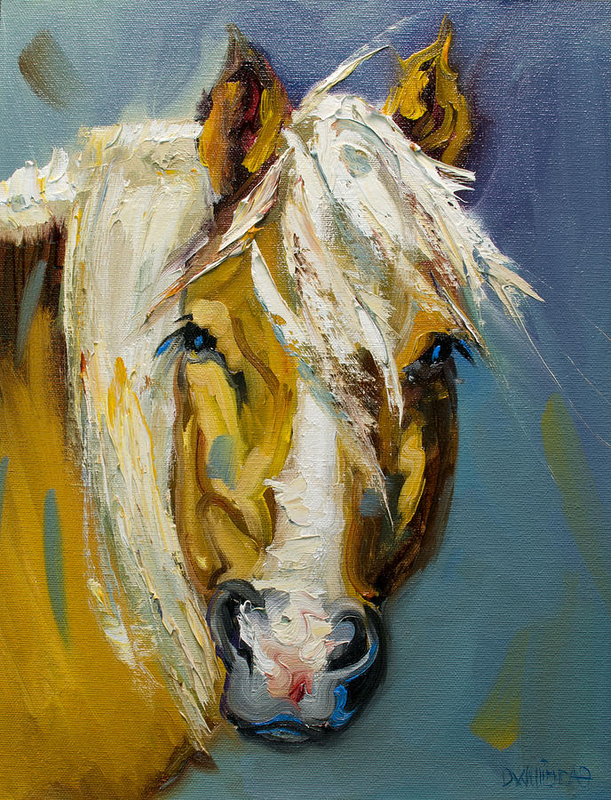 Horse Painting - Ranch Horse by Diane Whitehead