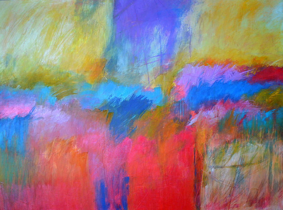 Abstract Painting - Random Acts Of Color by Filomena Booth