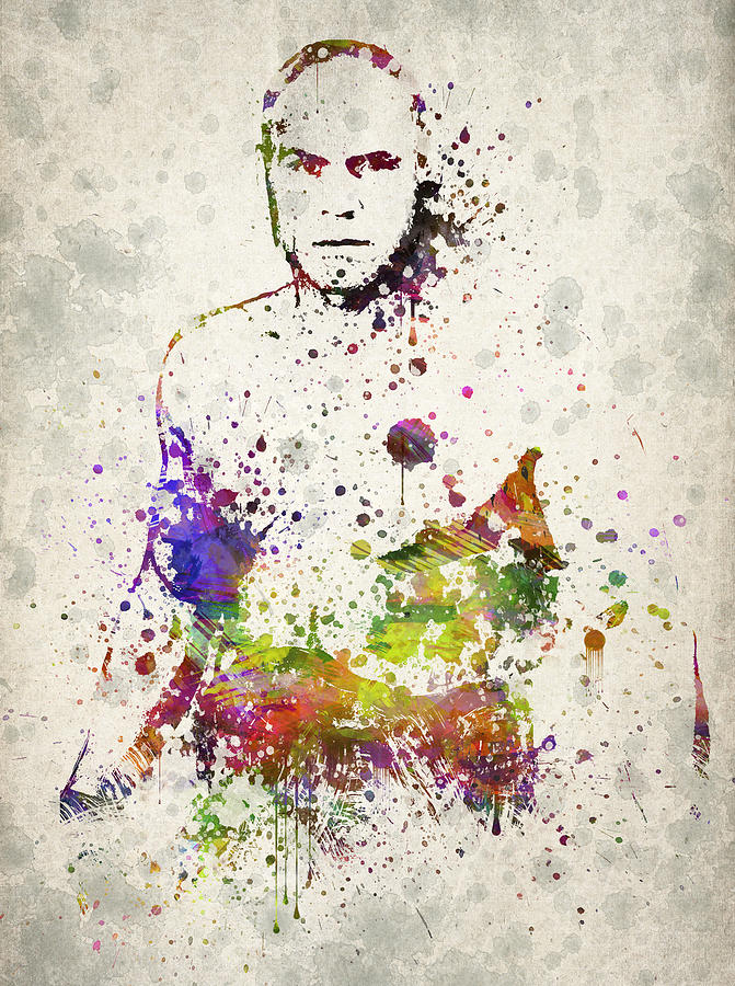 Randy Drawing - Randy Couture by Aged Pixel
