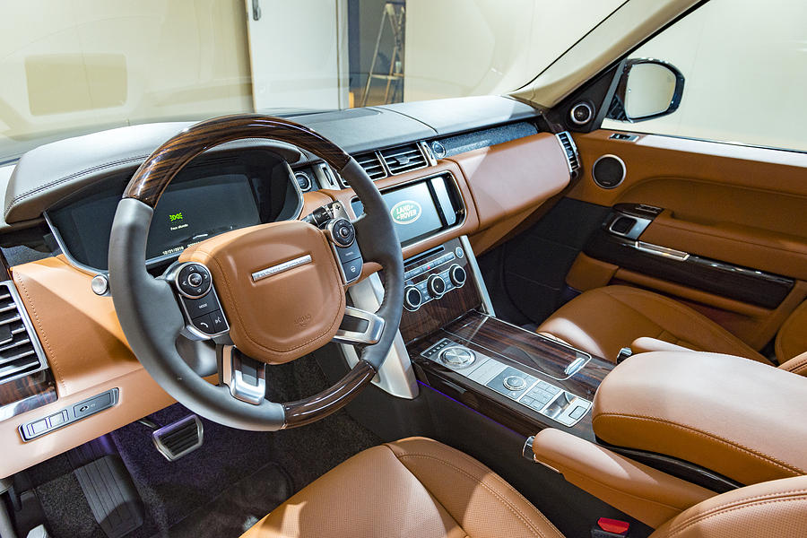Range Rover Offroad Suv Car Luxurious Interior By Sjo