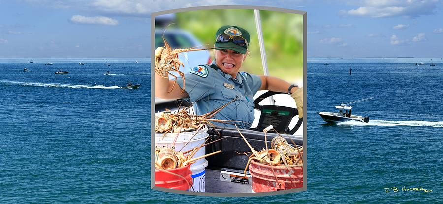 Ranger in Mini-Lobster  Season by R B Harper