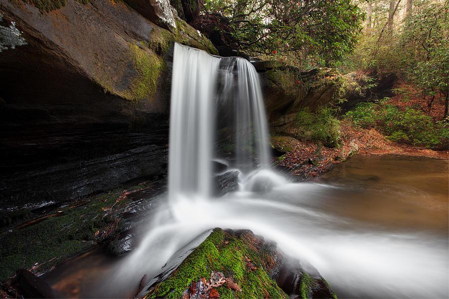 2012 Photograph - Raper Creek Falls by Scott Moore