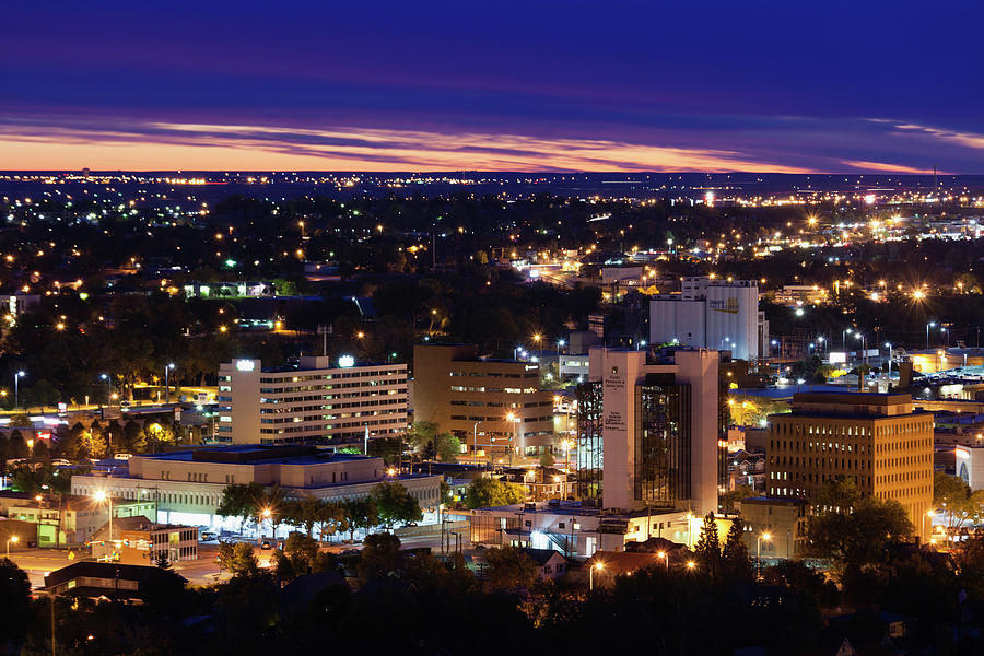 Rapid City, South Dakota, City View Photograph by Walter Bibikow