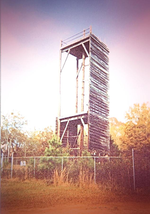 Presbyterian College Photograph - Rappelling Tower by James Potts