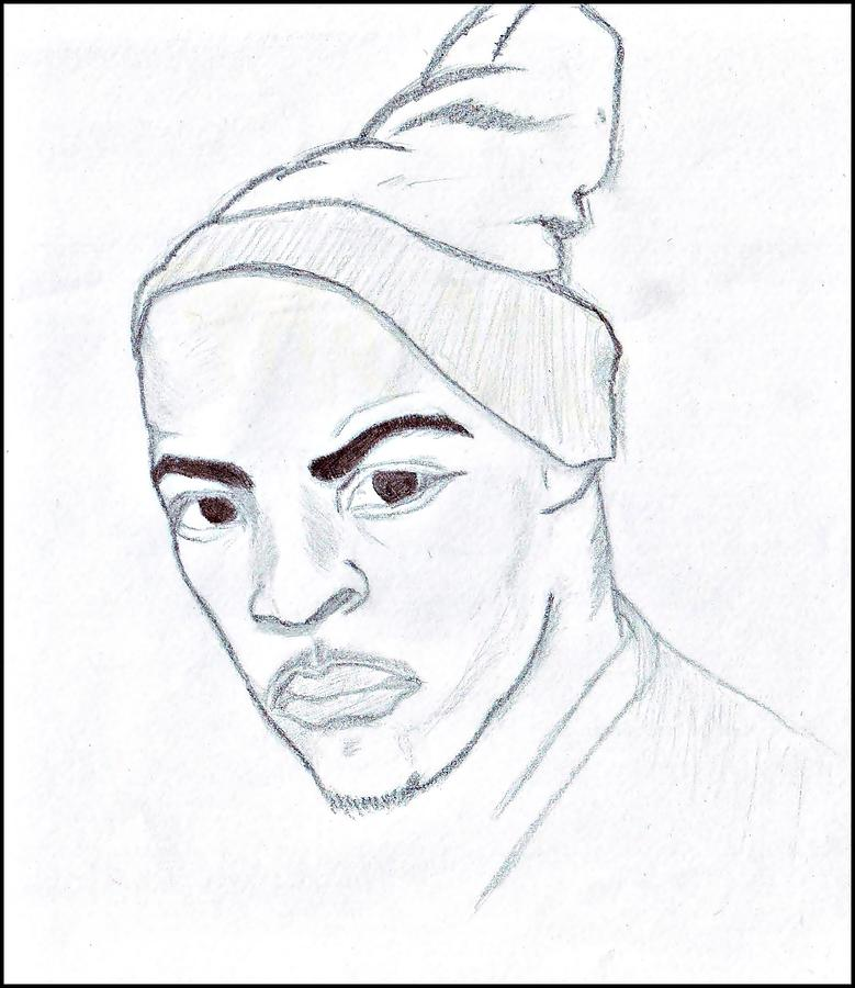 rapper ti drawing drawing by darius matuliukstis