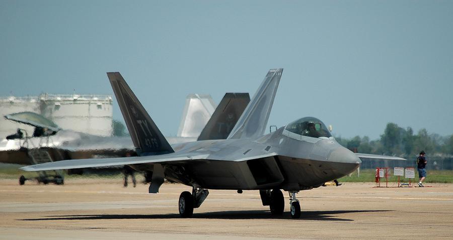 Air Force Photograph - Raptor by Bryan Stankovich