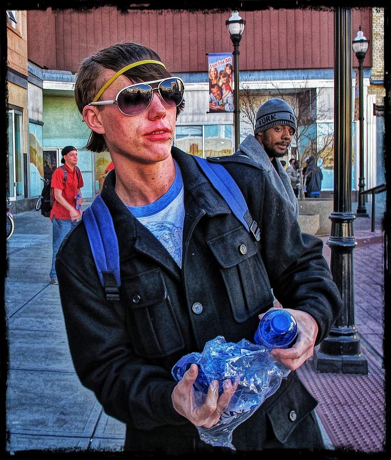 Homeless Photograph - Rare Breed #3 by John Derby