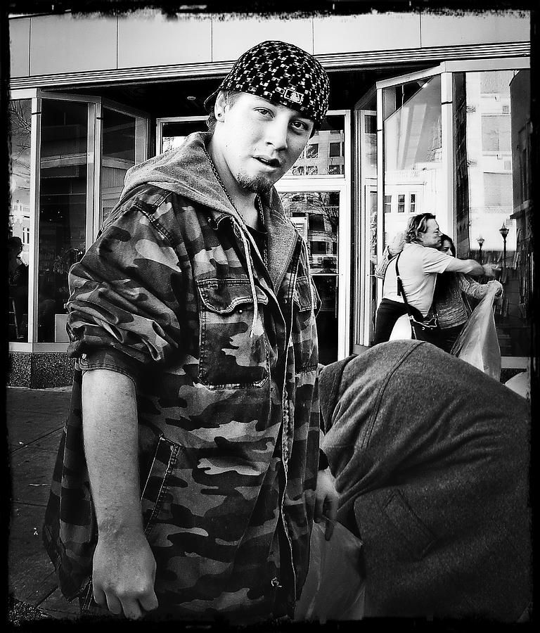 Homeless Photograph - Rare Breed #6 by John Derby