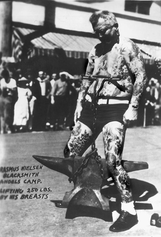 Tattoo Photograph - Tattoo Vintage Photographs by Larry Mora