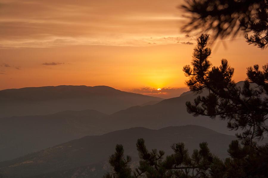 Rasos De Peguera Sunset Photograph