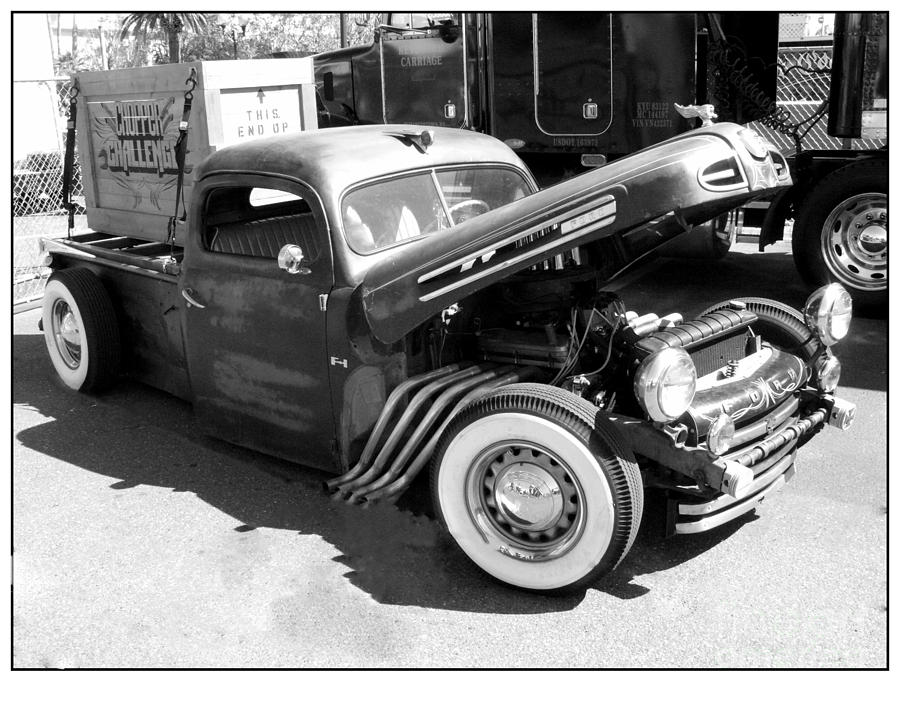 Rat Photograph - Rat Rod Hot Rod by Kip Krause