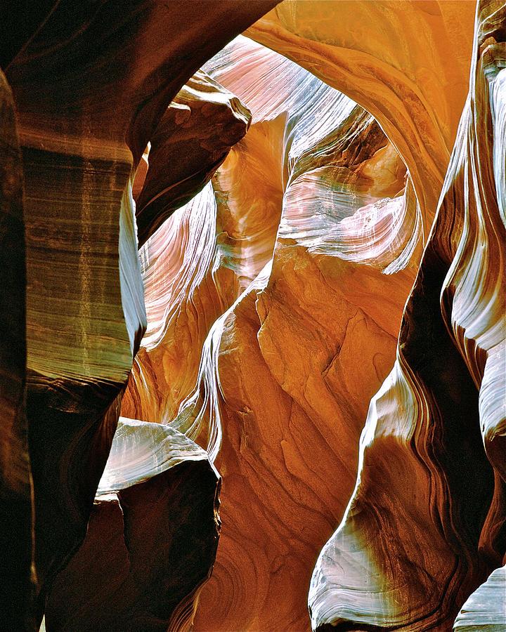 Canyon Photograph - Rattlesnake Canyon by Ed  Riche