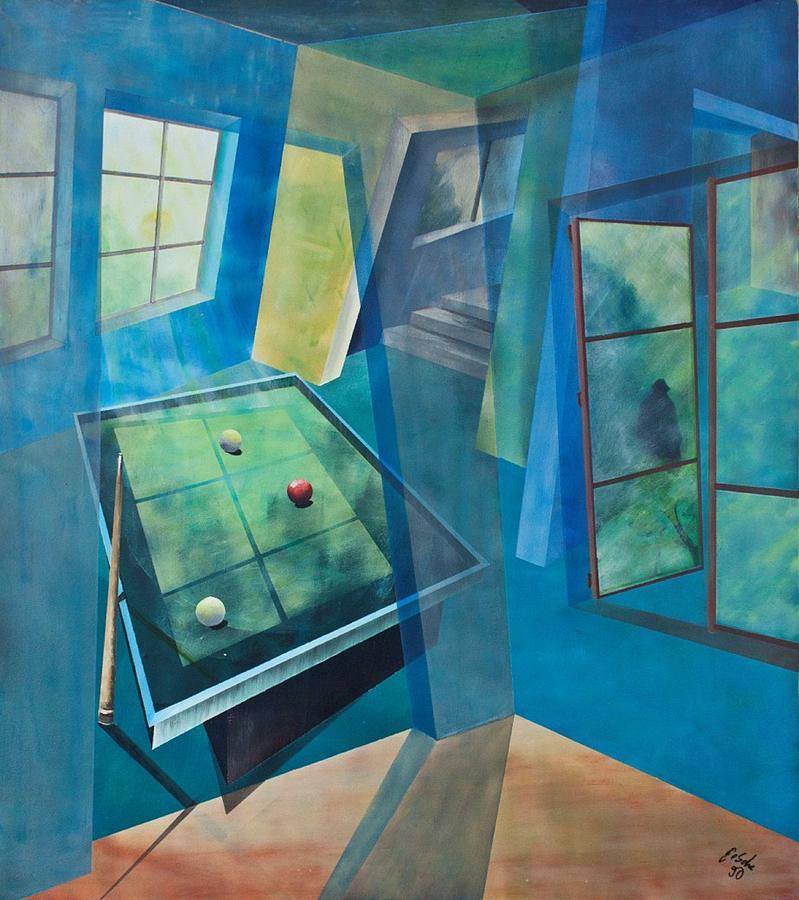 Raum Painting - Raumirritation 18 by Gertrude Scheffler
