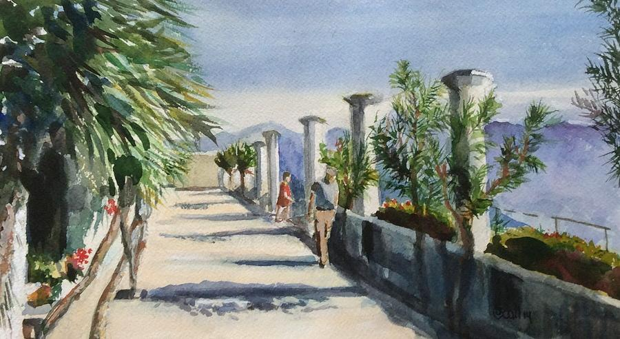 Ravello Italy by Judith Scull