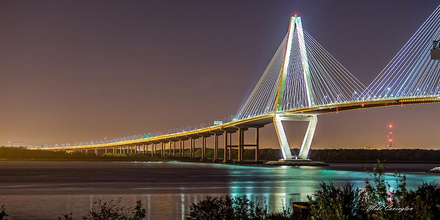 Ravenel Bridge - CHarleston by Mike Covington