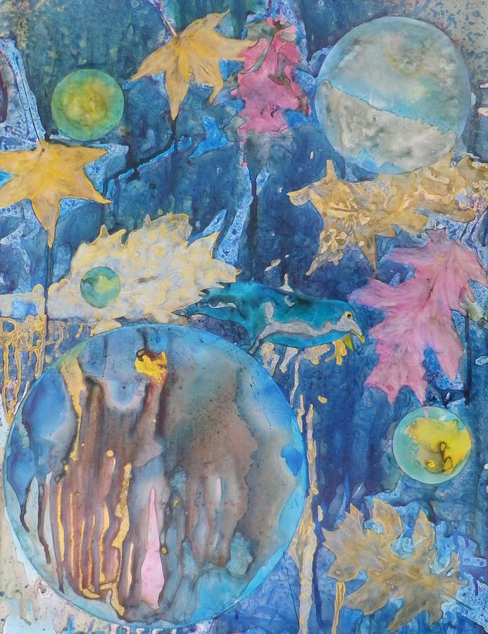 Seasons Painting - Ravens Gaze by David Raderstorf