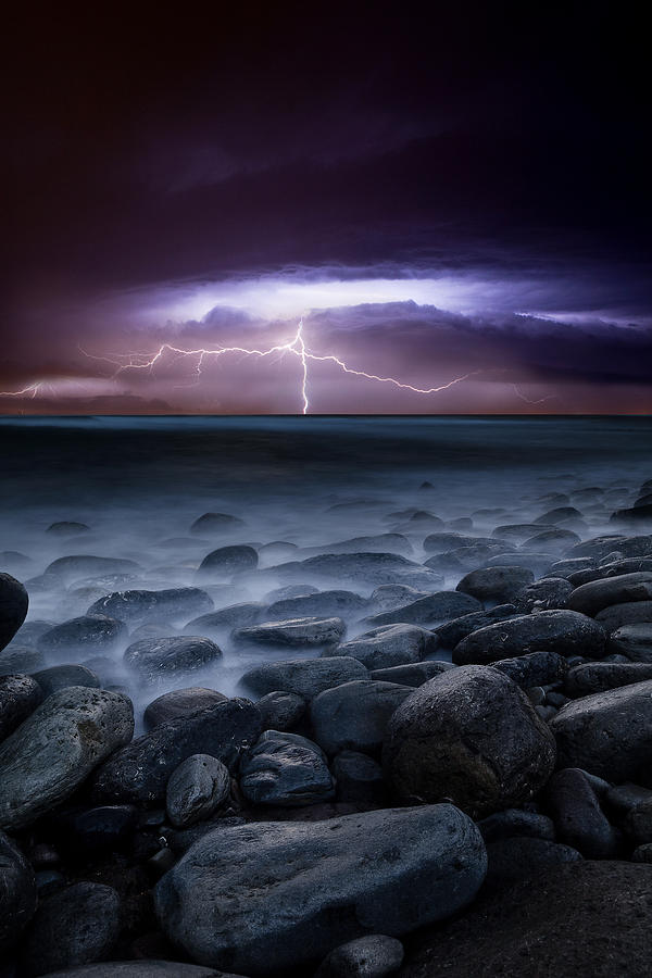 Landscape Photograph - Raw Power by Jorge Maia