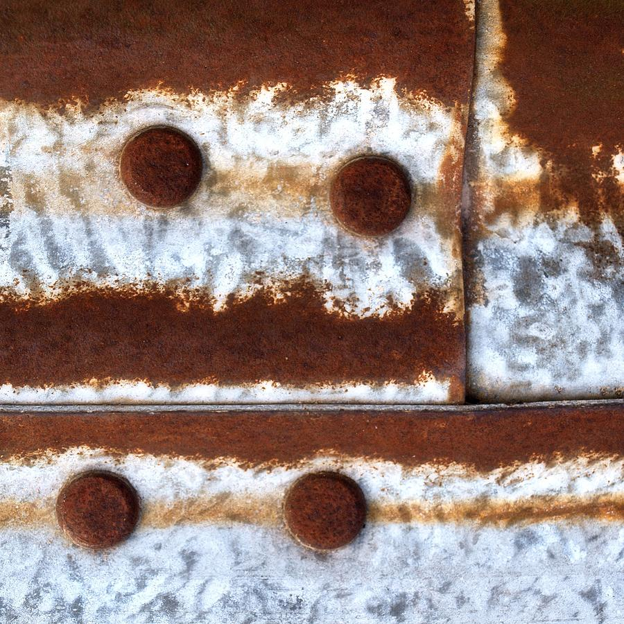 Abstract Photograph - Raw Steel 2 by Tom Druin