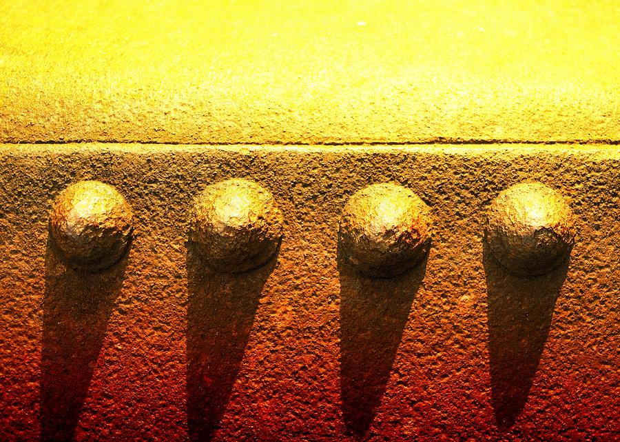 Abstract Photograph - Raw Steel 4 by Tom Druin