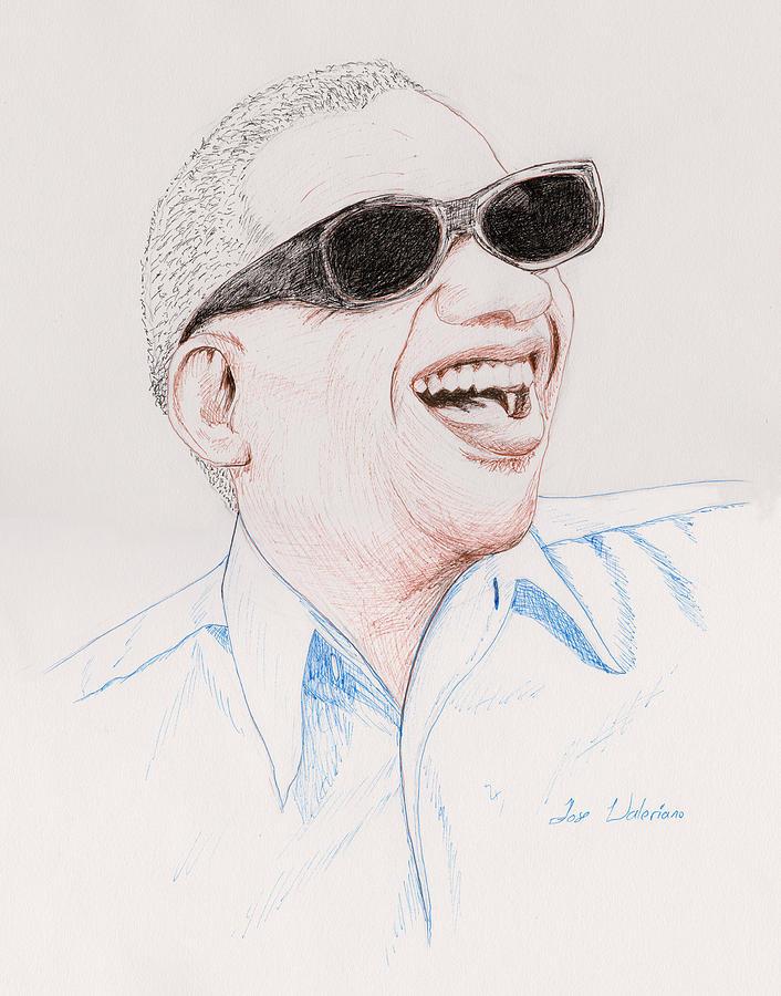 Ray Chalrles by M Valeriano