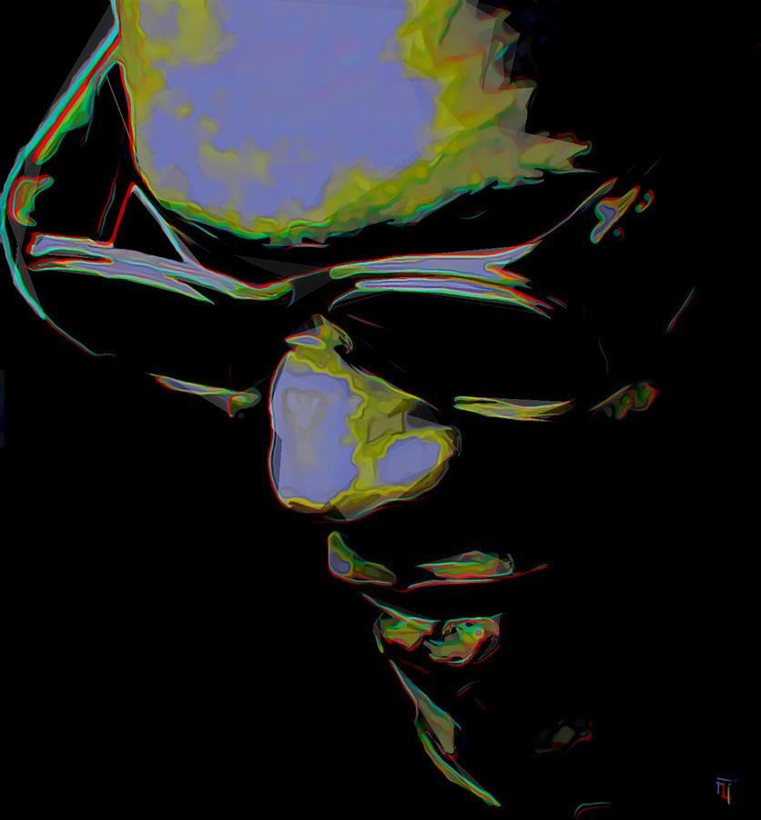 Ray Charles Painting - Ray Charles by Fli Art