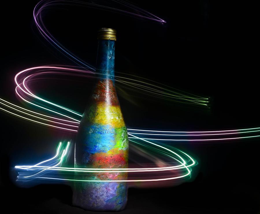Light Glass Art - Ray Of Light by Kingsley  Gicalde