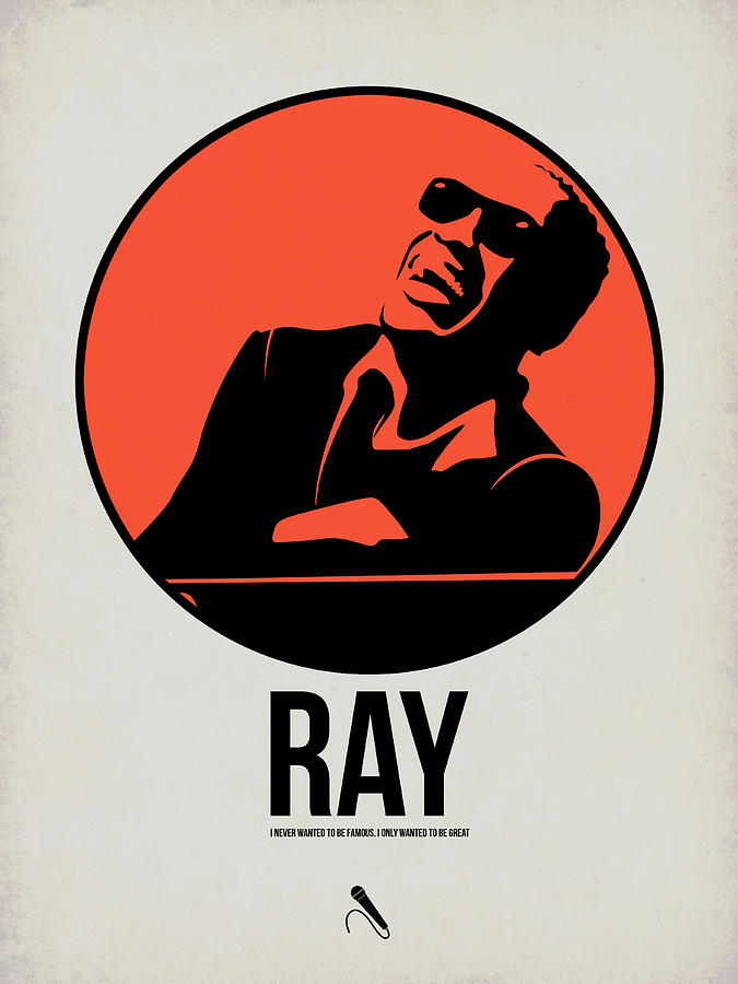 Music Digital Art - Ray Poster 1 by Naxart Studio